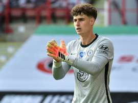 Kepa has conceded 8% of Chelsea's goals in their Premier League history. AFP