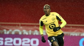Osimhen will be going to Napoli. AFP
