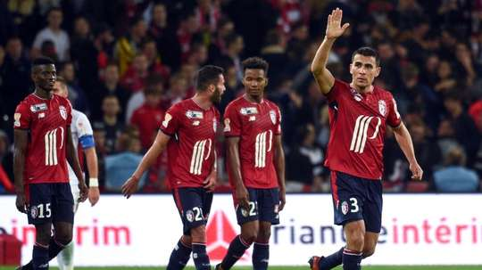 Junior Alonso will leave French side Lille. AFP