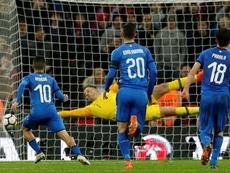 L'Angleterre ne rassure pas avant le Mondial. AFP