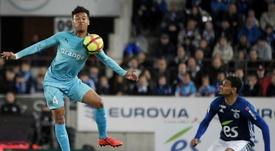 Les compos probables du match de Ligue 1 entre Marseille et Strasbourg. AFP