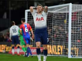 Kieran Trippier's future looks to be moving away from London. AFP