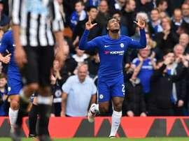 O Chelsea recebeu e venceu o Newcastle por 3-0. AFP