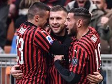 L'AC Milan enchaîne contre l'Udinese. AFP
