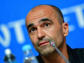 Roberto Martinez spoke about Belgium's preparation for their Nations League opener. AFP
