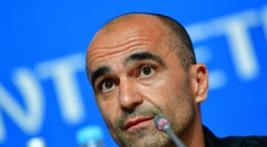 Martinez urged Belgium to build on their third-place finish. AFP