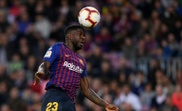 Umtiti played for Barca for the first time this campaign. AFP