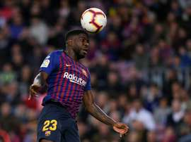 Umtiti and Junior join team for Ipurua. AFP