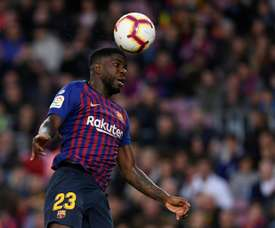 Umtiti could well be picked up by PSG. AFP