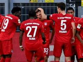 Jogadores do Bayern voltam a abrir mão de parte do salário. AFP