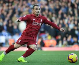 Shaqiri has been criticised by Neville a lot over the years. AFP
