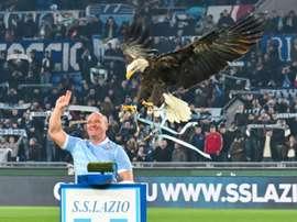 La Lazio, entre rêve de titre et vieux cauchemar. AFP