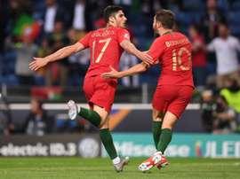 Victoire historique pour le Portugal. AFP