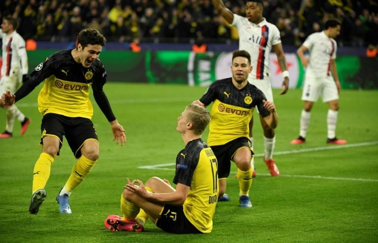 Haaland Borussia PSG