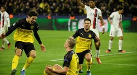 Haaland regala la vittoria al Dortmund. AFP