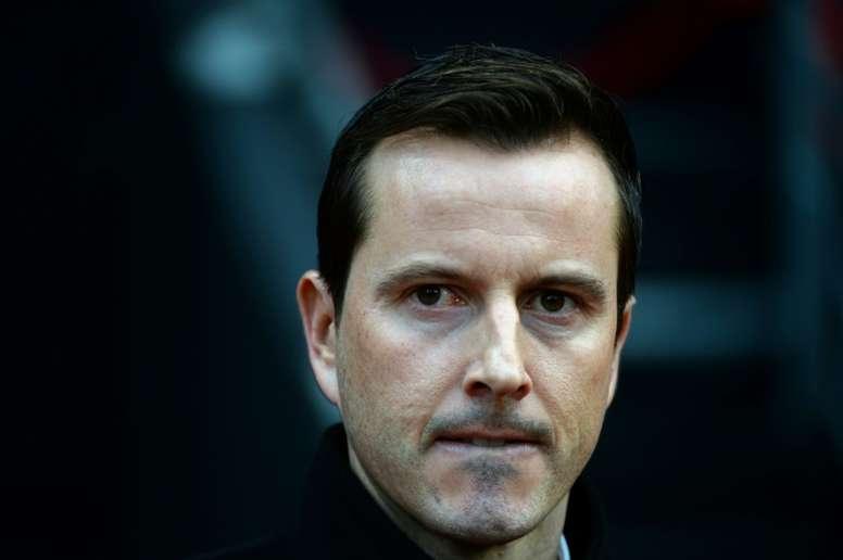 L'entraîneur de Rennes Julien Stephan. AFP
