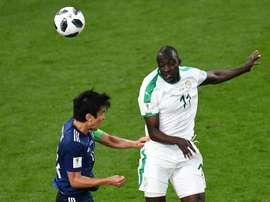 Ndoye évoque le caractère de Verratti. AFP