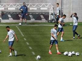 Le Bayern Munich reprend l'entraînement avec précautions. AFP