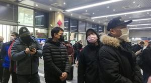 Des matches de football qualificatifs pour les JO 2020 déplacés dû au virus en Chine. AFP