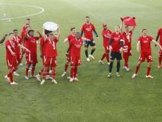 M'Gladbach en Ligue des champions, Brême ira en barrages. AFP