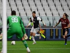 Plus de huit millions de téléspectateurs pour Juventus-AC Milan. AFP