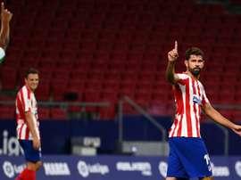 Diego Costa forfait pour le match contre le Bayern. AFP