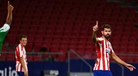 El Atlético ya tiene billete para la Champions. EFE
