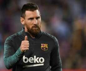 Quem é o gigante chinês, dono da Inter,  que quer contratar Leo Messi? AFP