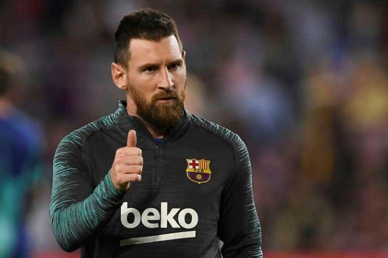 Messi voulait voir Ney au Barça. AFP