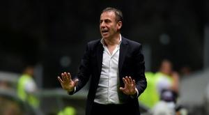 Besiktas se sépare de son entraîneur. AFP