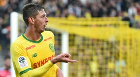 Sala has scored 12 goals in 13 games this season. AFP