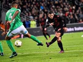 El Niza se ha reencontrado con la victoria y retorna al liderato en Francia. AFP