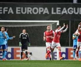 Braga vence Moreirense. AFP