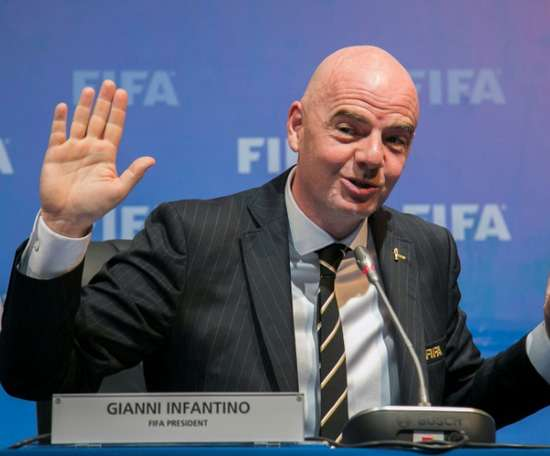 Infantino is standing by the extra tournaments. AFP