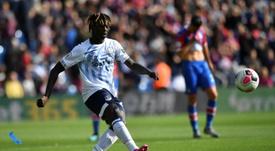 O Milan pensa em Moise Kean como alternativa a Ibrahimovic. AFP