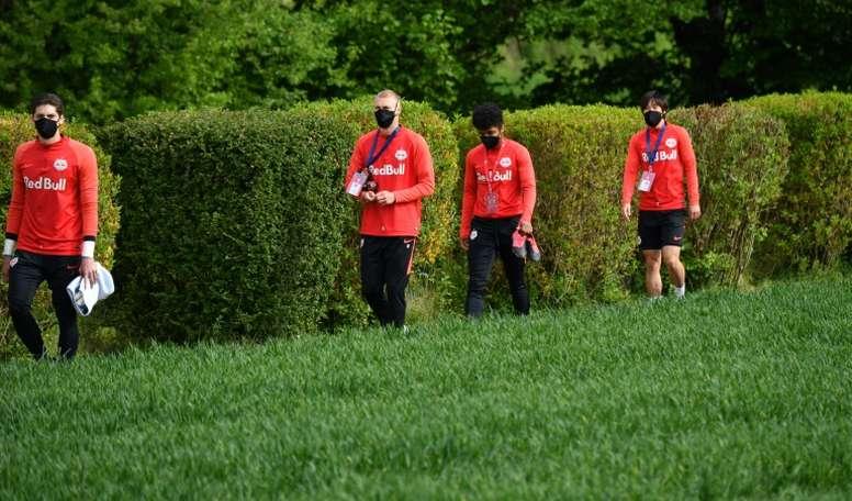 Reprise du championnat début juin en Autriche. AFP