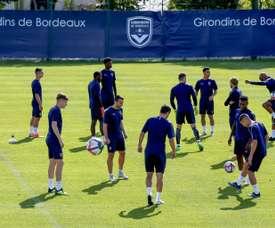 Bordeaux s'est incliné contre Nice. AFP