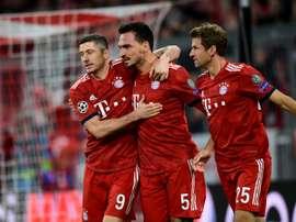 Le défenseur du Bayern Munich Mats Hummels. AFP