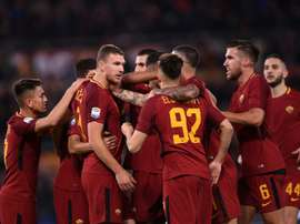 Chelsea are thought to be closing in on Dzeko and Palmieri. AFP