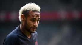 Tout ou rien pour Neymar. AFP
