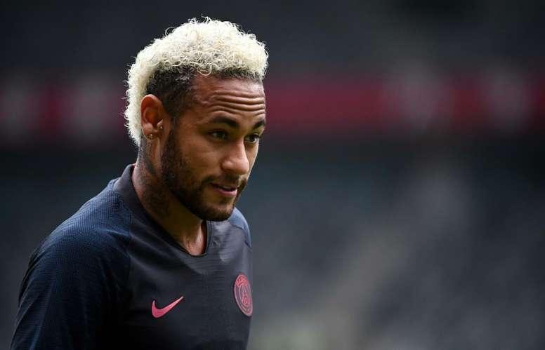La propuesta del PSG al Barça para dejar ir a Neymar. AFP