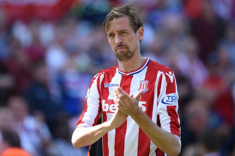 Crouch has retired aged 38. AFP