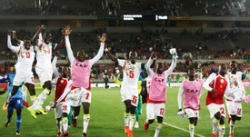 O Senegal vai estar no Mundial'2018. AFP