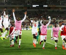 O Senegal vai estar no Mundial'2018. AFP