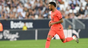 Neymar insiste no Barcelona. AFP