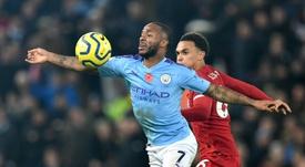 Sterling écarté de l'équipe d'Angleterre après une altercation avec un partenaire. AFP