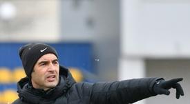 Fonseca tiene un estilo similar al de Guardiola. AFP