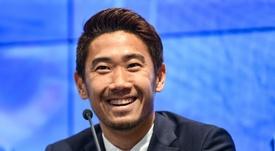 Kagawa va t-il rejoindre la seconde division espagnole ? AFP