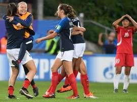 La France va affronter l'Espagne. AFP