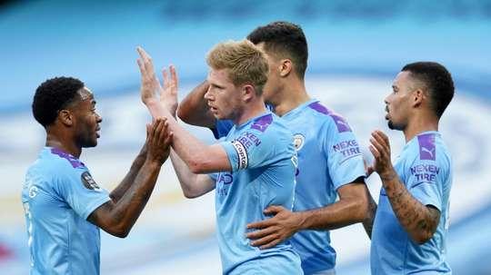 O City poderá oficialmente jogar a Liga dos Campeões. AFP